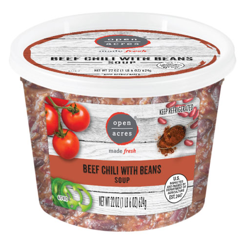 open acres beef chili