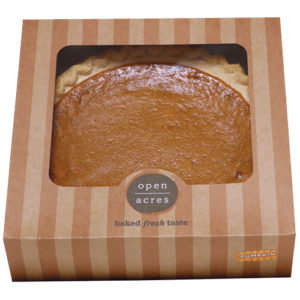 open acres pumpkin pie boxed