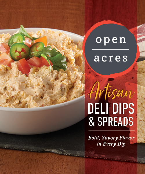 Open Acres Artisan Deli Dips and Spreads