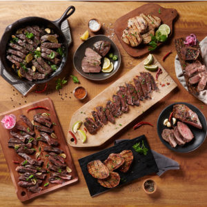Open Acres marinated meats